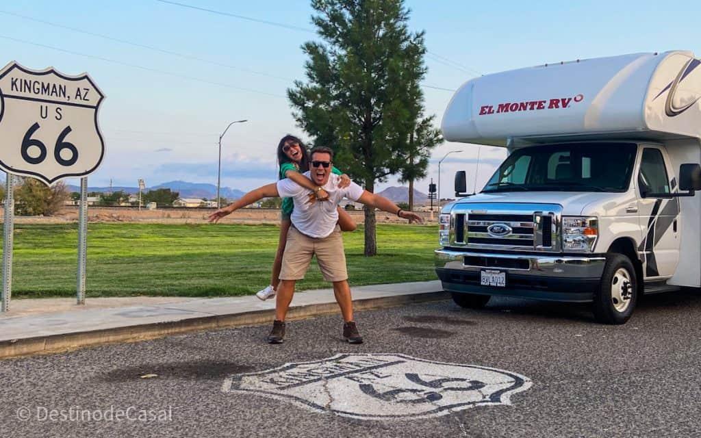 Aluguel de Motorhome: Destino de Casal na Rota 66